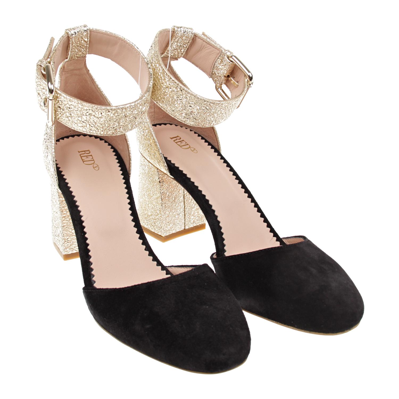 Купить со скидкой Туфли на устойчивом каблуке