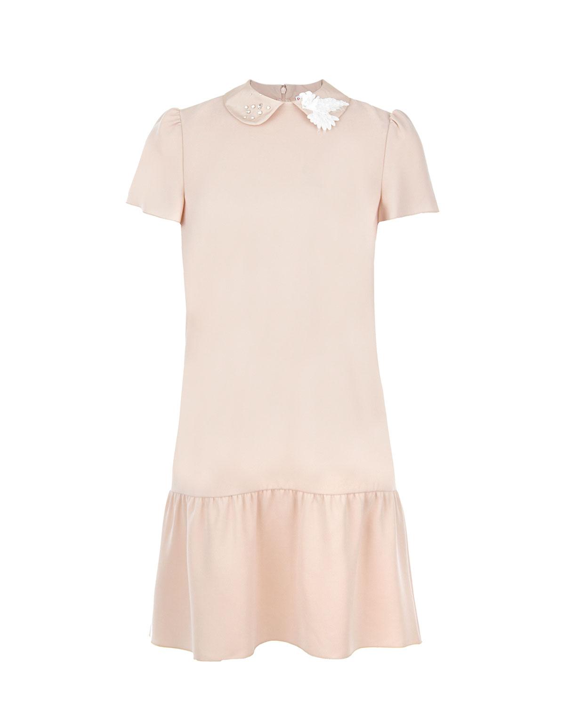 Купить со скидкой Платье с короткими рукавами Red Valentino