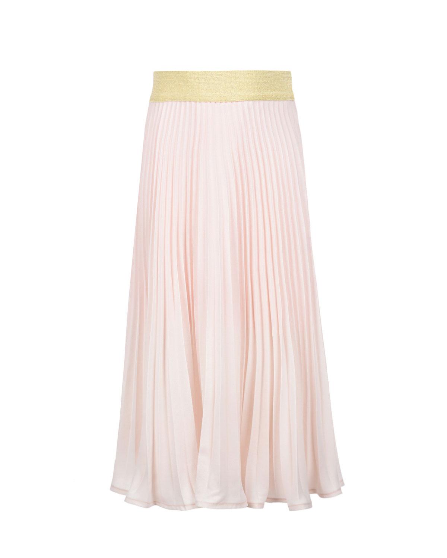 Купить Плиссированная юбка с поясом на резинке Monnalisa детская