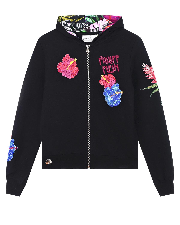 спортивные куртка philipp plein для девочки