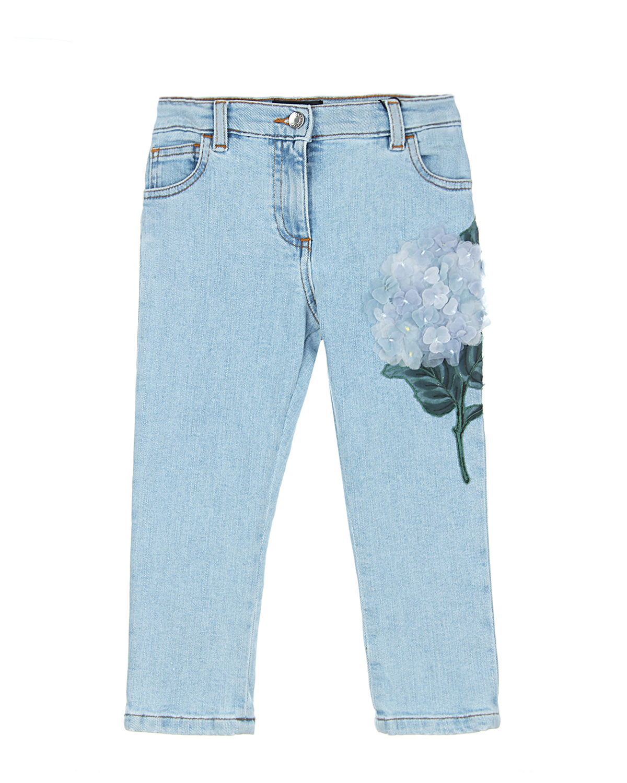 Брюки джинсовые Dolce&amp;Gabbana для малышейДжинсы<br><br>