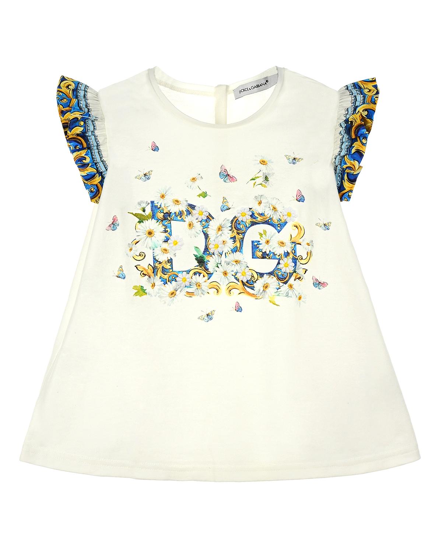 Футболка Dolce&amp;Gabbana для малышейФутболки, Топы, Майки<br><br>