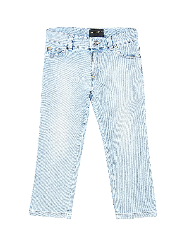 Брюки джинсовые Dolce&amp;Gabbana для мальчиковДжинсы<br><br>