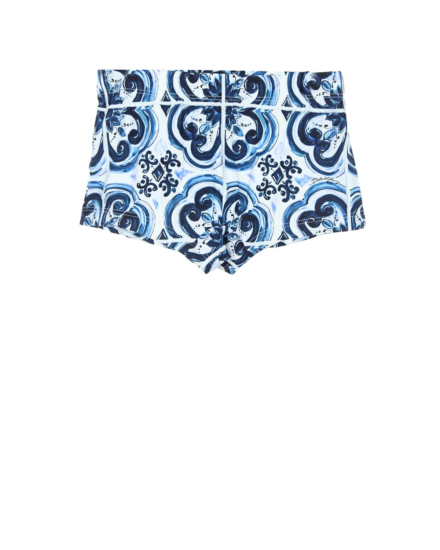 Плавки-шорты Dolce&amp;Gabbana для мальчиковПлавки<br><br>