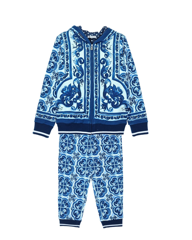 Костюм спортивный Dolce&amp;Gabbana для мальчиковСпортивная одежда<br><br>
