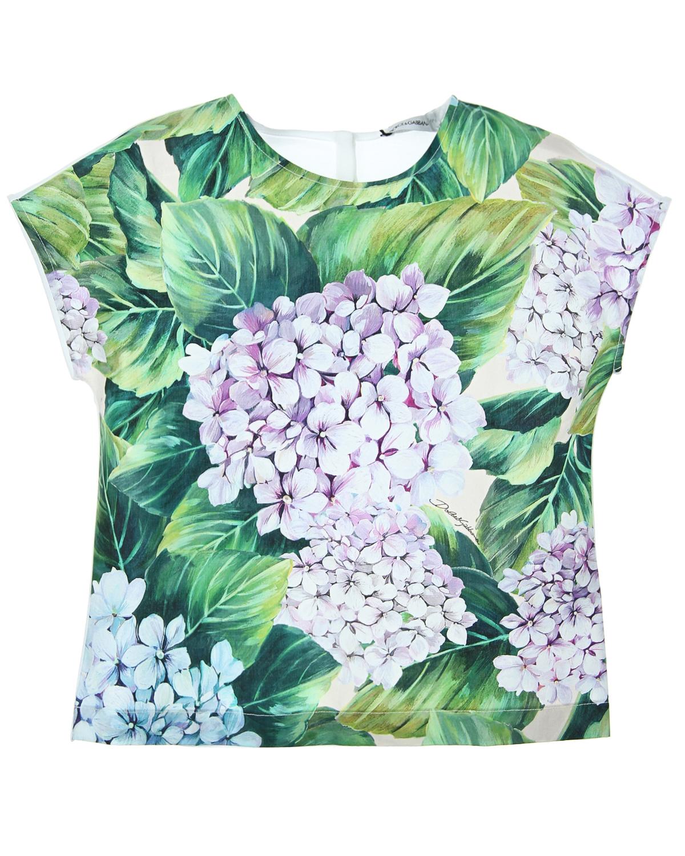 Топ Dolce&amp;Gabbana для девочекФутболки, Топы, Майки<br><br>