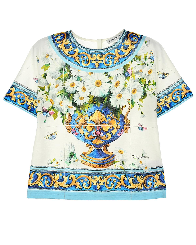Топ Dolce&Gabbana для девочек