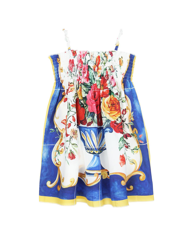 Сарафан Dolce&amp;Gabbana для девочекПлатья, Сарафаны<br><br>