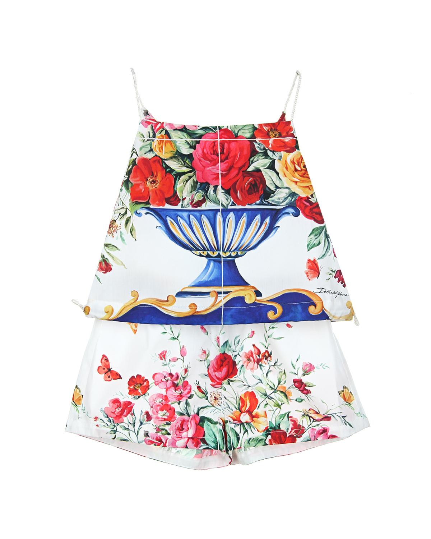 Комплект 2 дет Dolce&Gabbana для девочек