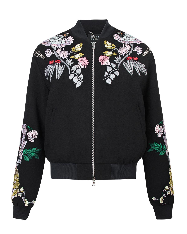 Купить со скидкой Куртка-бомбер с вышивкой Markus Lupfer