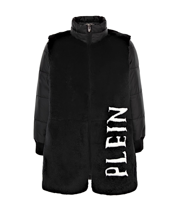пальто philipp plein для девочки
