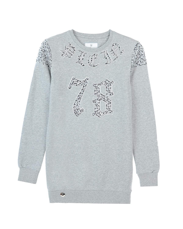 пуловер philipp plein для девочки