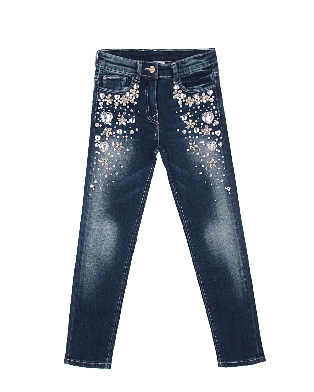 Купить со скидкой Брюки джинсовые Monnalisa