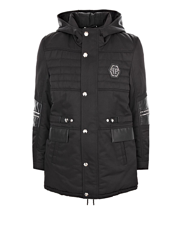 Купить со скидкой Куртка-парка с декоративной отделкой