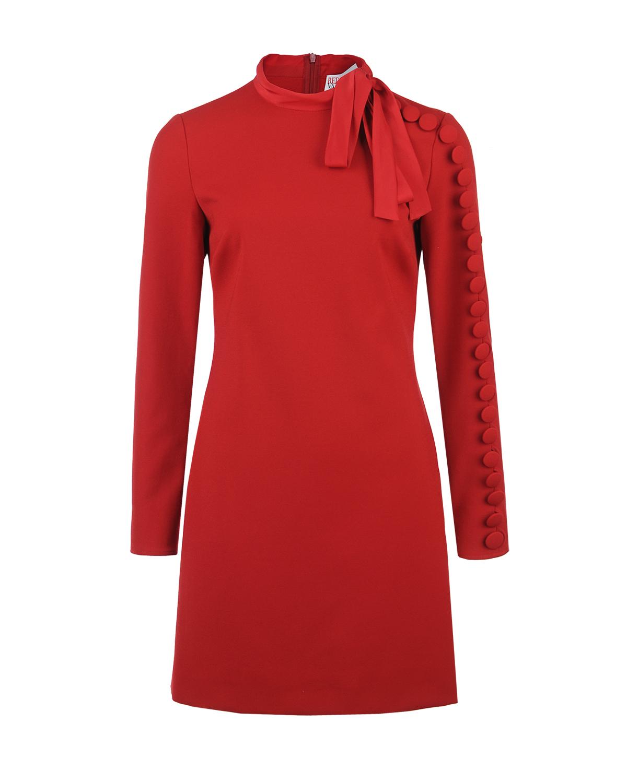 Купить Красное платье с декором, Red Valentino