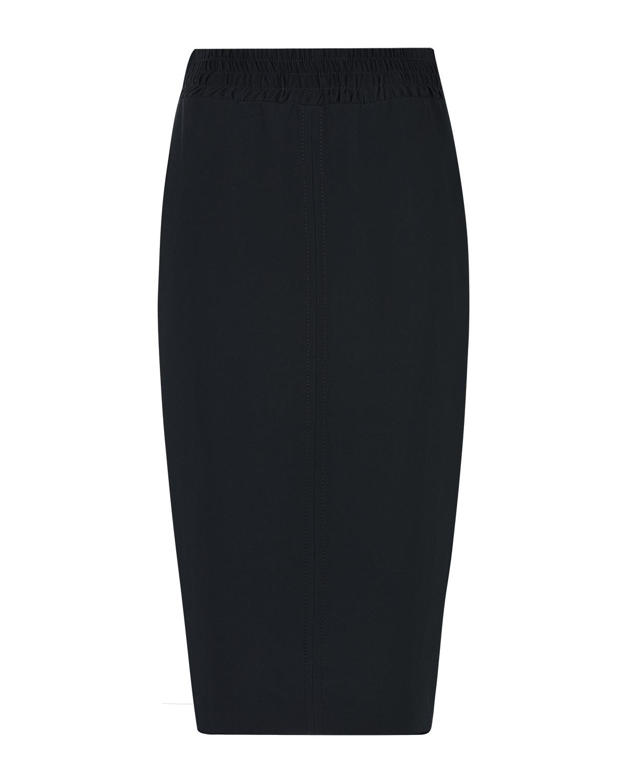 Черная юбка-миди No. 21 фото