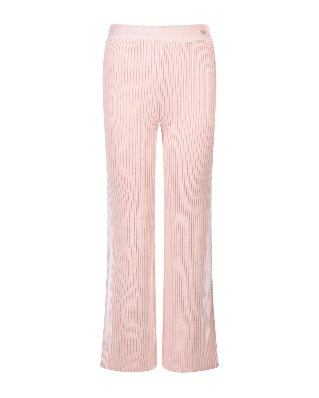 Купить Розовые брюки из шерсти и кашемира Markus Lupfer, Розовый, 85%шерсть+15%кашемир