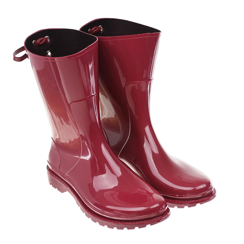 Купить Красные резиновые сапоги Red Valentino