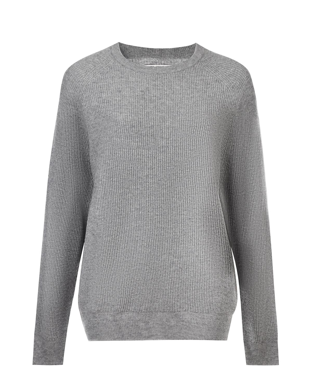 Купить Серый свитер из шерсти и кашемира Woolrich