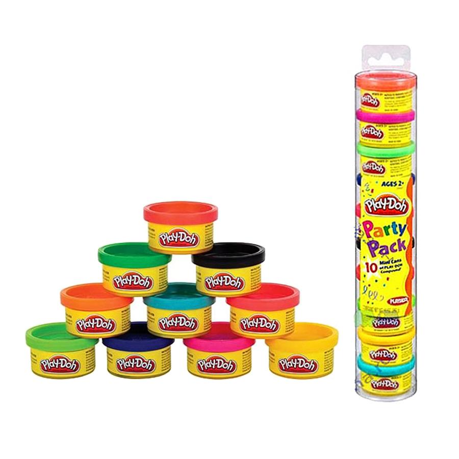Пластилин Play Doh 10 баночек в тубусе
