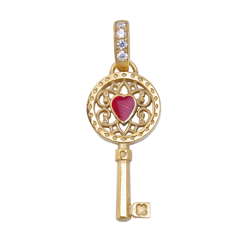 """Мини-кулон """"Ключ от моего сердца"""" Заветное желание Namfleg фото"""