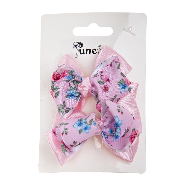 Купить Зажим для волос Junefee детский, Нет цвета, металл, текстиль