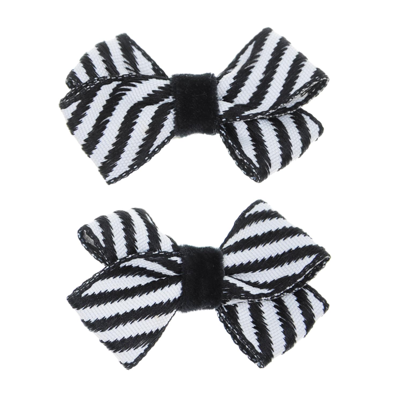 Купить Зажим для волос Rich Bow 2 шт. Junefee детский, Нет цвета, текстиль