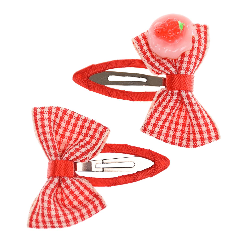 Купить Клик-клак Toy cake 2 шт, красный Junefee детский, Нет цвета, текстиль, металл