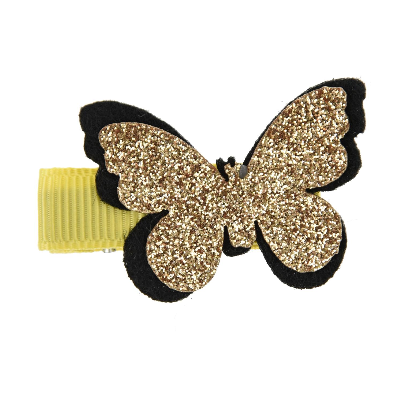 Купить Зажим для волос Золотая бабочка Tais детский, Нет цвета, см.на упак.