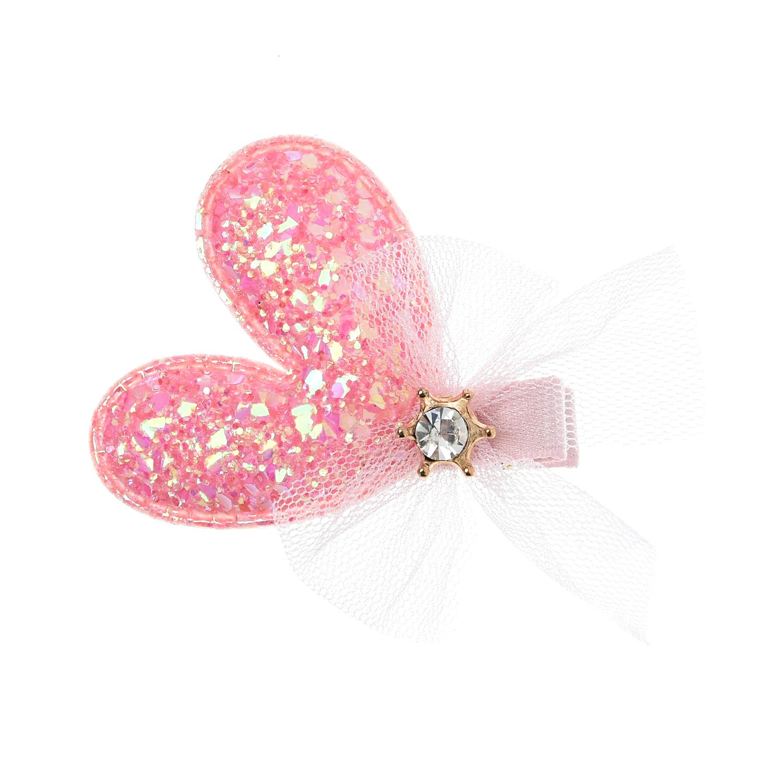 Зажим для волос, светло-розовый Tais детский фото