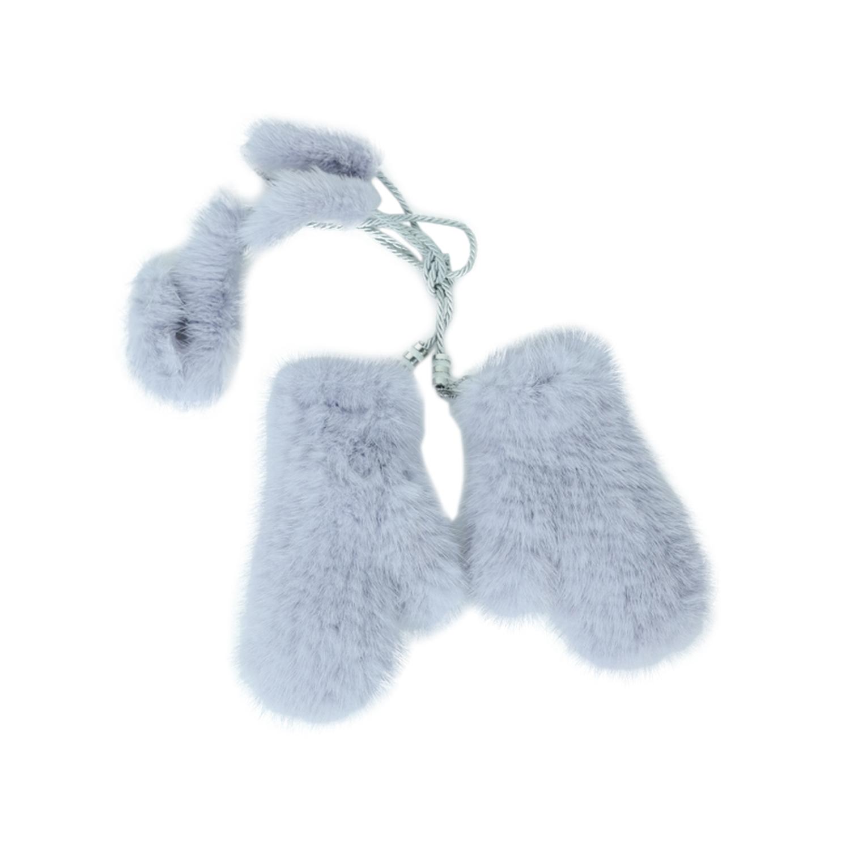 Купить Варежки детские Беби ваяз из меха норки Carolon 20, Нет цвета, натуральный мех