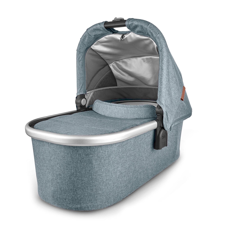 Люлька для коляски Cruz и Vista Gregory голубой меланж UPPAbaby цвет нет цвета