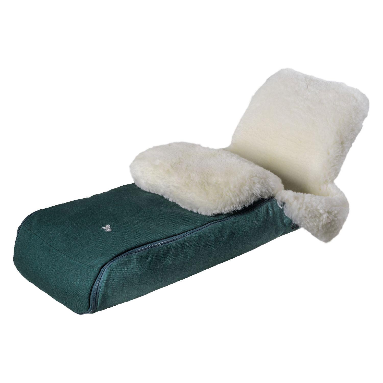 Купить Конверт Premium Welss овчина/мех, зеленый Hesba, Нет цвета