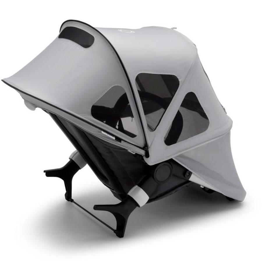 Купить Капор от солнца для коляски Cameleon3/Fox/Fox2 breezy Misty Grey Bugaboo, Нет цвета, 100% полиэстер с защитой от от ультрафиолета 50+