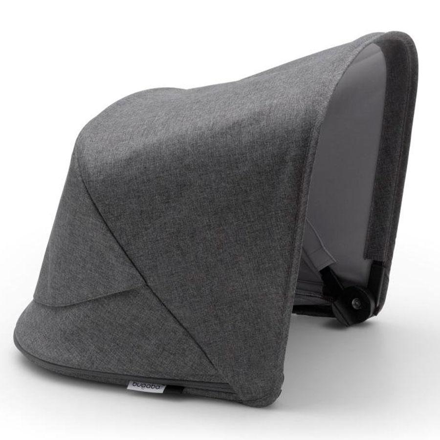 Купить Капор сменный для коляски Fox2/Cameleon 3Plus GREY MELANGE Bugaboo, Нет цвета, 100% полиэстер с защитой от от ультрафиолета 50+