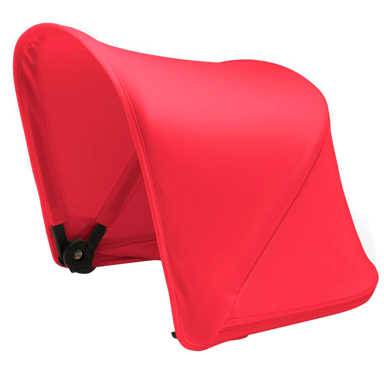 Купить Капор Bugaboo Fox раздвижной NEON RED, Красный, 100% полиэстер