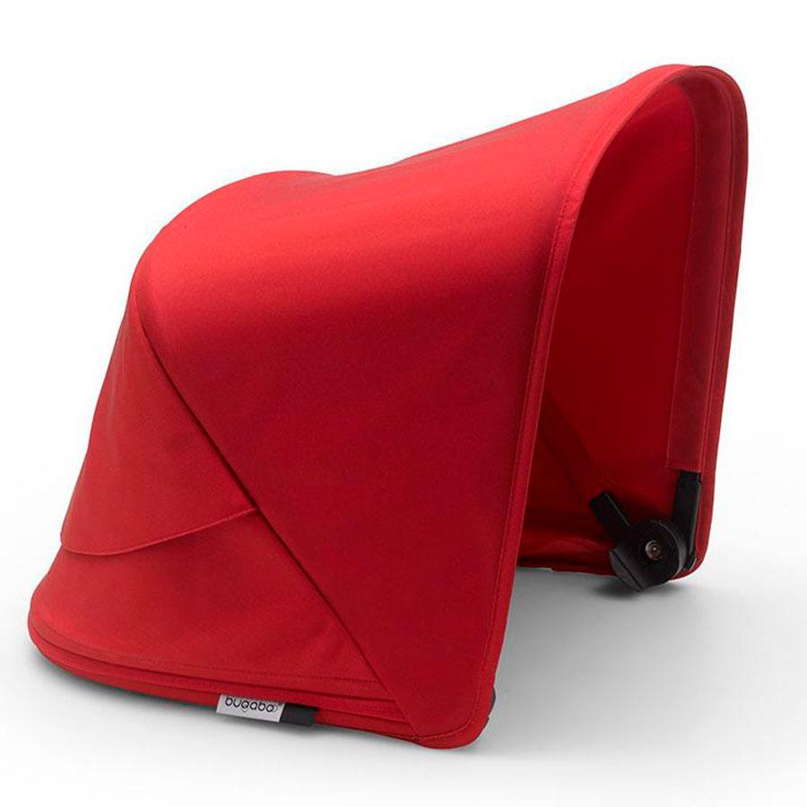 Купить Капор сменный для коляски Fox2/Cameleon 3Plus RED Bugaboo, Нет цвета, 100% полиэстер с защитой от от ультрафиолета 50+