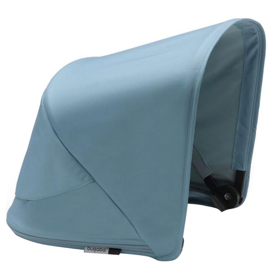 Купить Капор сменный для коляски Fox2/Cameleon 3Plus VAPOR BLUE Bugaboo, Нет цвета, 100% полиэстер с защитой от от ультрафиолета 50+