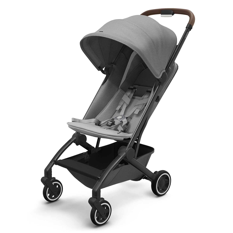 Детская коляска Aer Delightful Grey JOOLZ, Нет цвета, металл, пластмасса, хлопок, полиэстер, поливинилхлорид, резина  - купить со скидкой