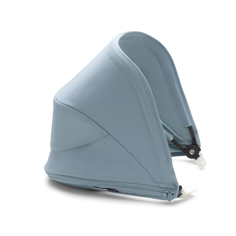 Купить Капюшон сменный для коляски Bugaboo Bee6 Vapor blue, Нет цвета, 100% полиэстер