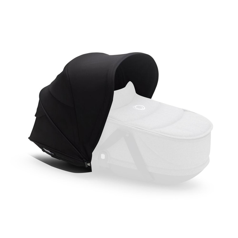 Купить Капюшон сменный для коляски Bugaboo Bee6 Black, Нет цвета, 100% полиэстер