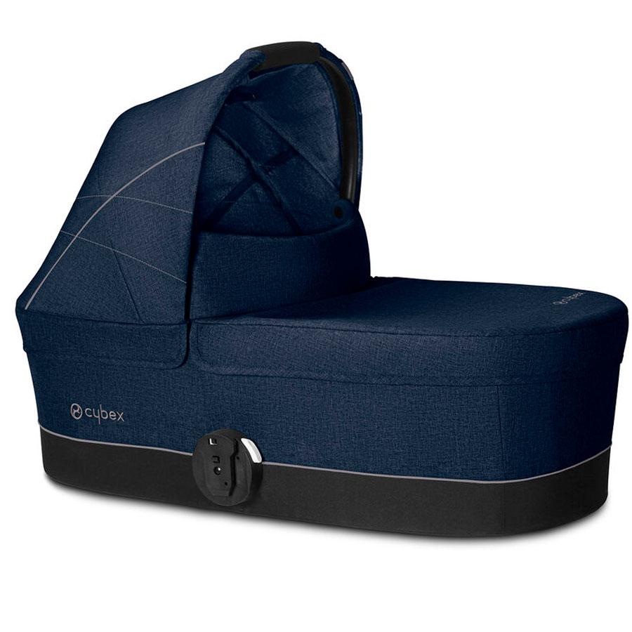 Купить Спальный блок Cot S Denim Blue, синий CYBEX, Нет цвета, Полиэстер, металл, пластик