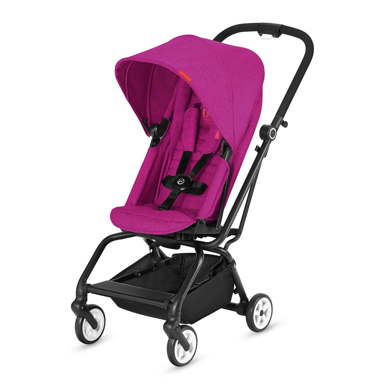 Купить Коляска прогулочная Eezy S Twist Fancy Pink, розовый CYBEX, Нет цвета, Полиэстер, металл, пластик