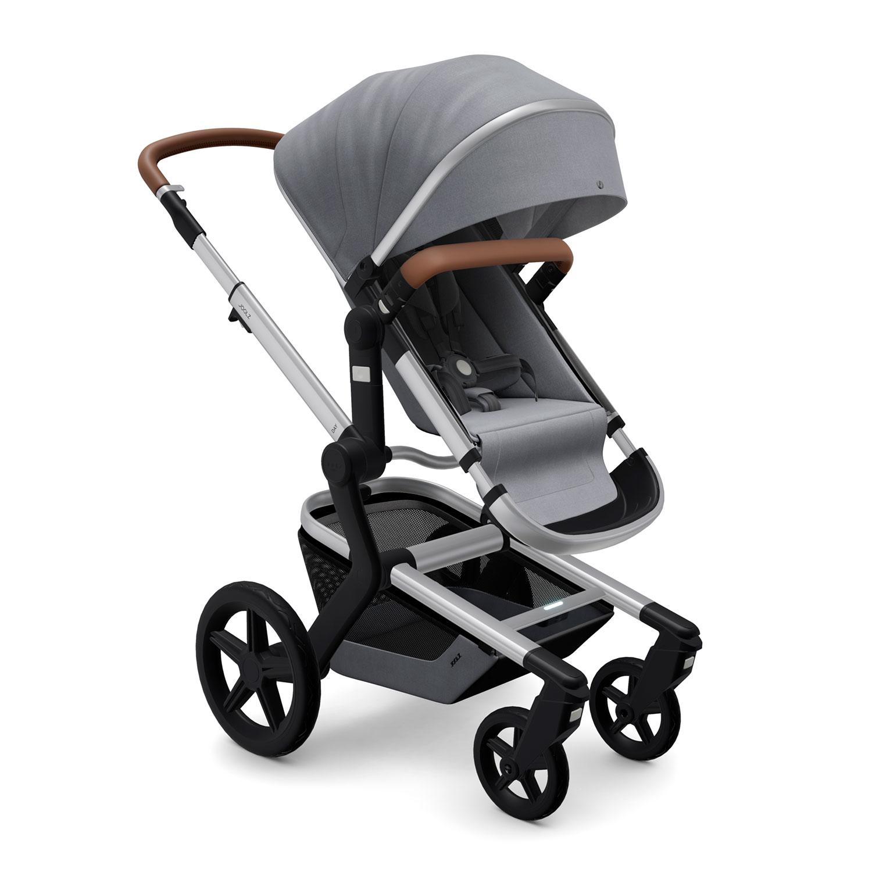 Купить Детская коляска Joolz Day+ Gorgeous Grey, Нет цвета, металл, пластмасса, хлопок, полиэстер, поливинилхлорид, резина