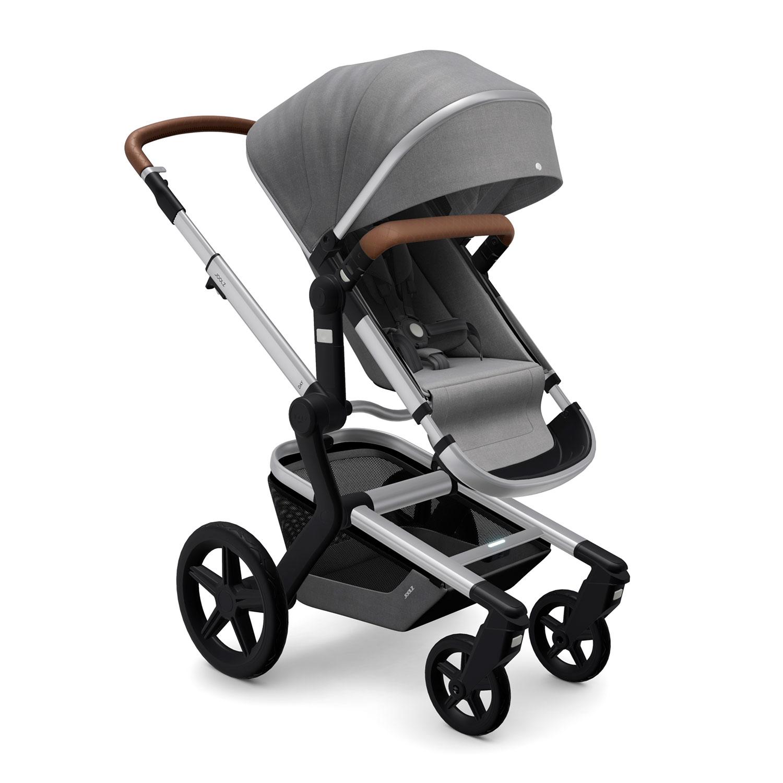 Купить Детская коляска Joolz Day+ Radiant Grey, Нет цвета, металл, пластмасса, хлопок, полиэстер, поливинилхлорид, резина