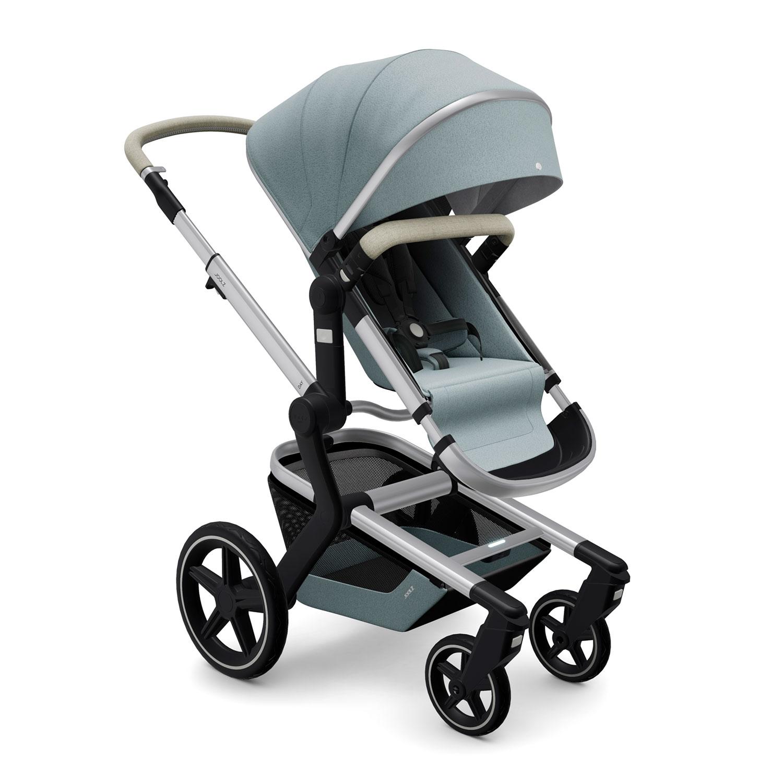 Купить Детская коляска Joolz Day+ Gentle Blue, Нет цвета, металл, пластмасса, хлопок, полиэстер, поливинилхлорид, резина