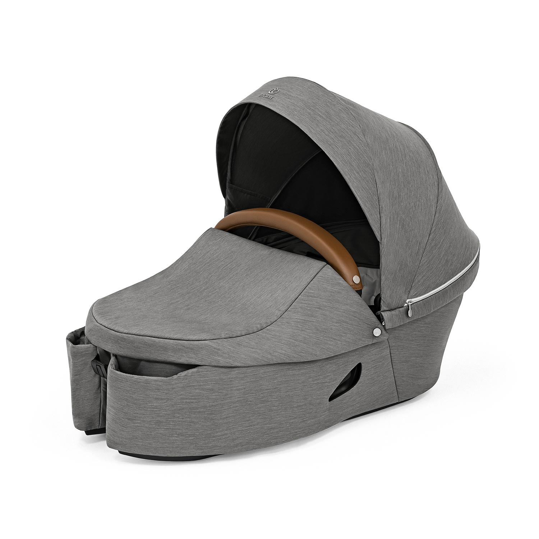 Купить Люлька Xplory X Modern grey 572102 Stokke, Нет цвета, текстиль 100% полиэстер, наматрасник 100% эластерелл-п,