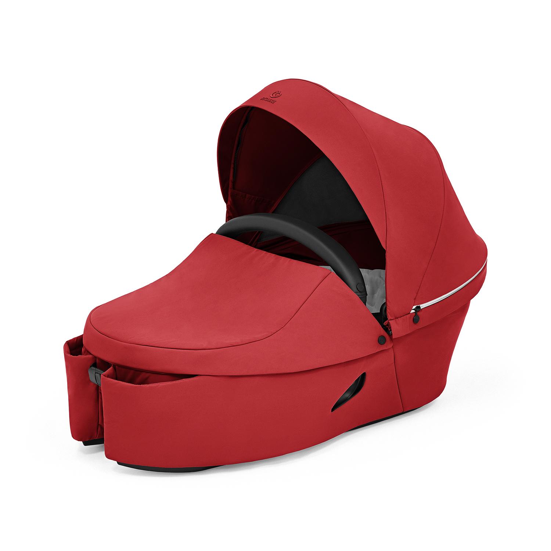 Купить Люлька Xplory X Ruby red 572104 Stokke, Нет цвета, текстиль 100% полиэстер, наматрасник 100% эластерелл-п,