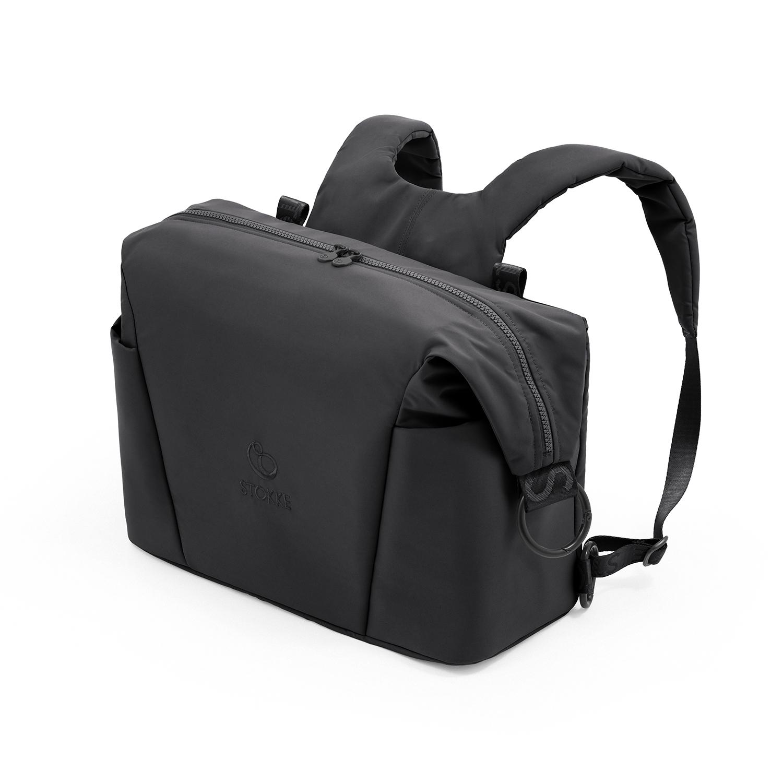 Купить Черная сумка для коляски Xplory X Stokke, Нет цвета, Состав: Верх 100% Полиэстер, Наполнитель: 100% Этиленвинилацетат.