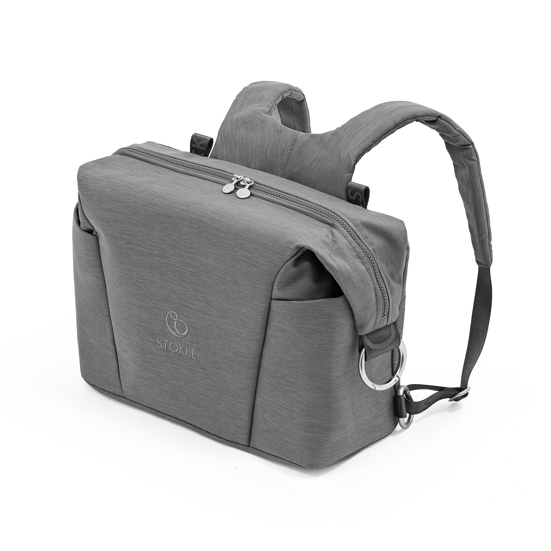 Купить Серая сумка для коляски Xplory X Stokke, Нет цвета, Состав: Верх 100% Полиэстер, Наполнитель: 100% Этиленвинилацетат.